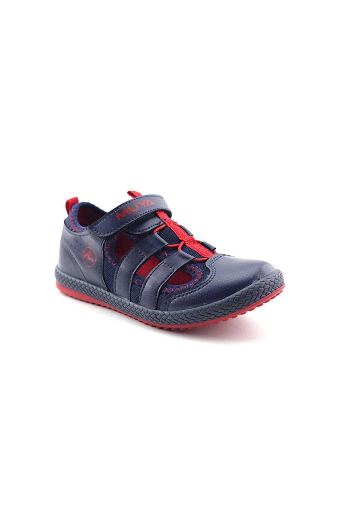 Muya Unisex Çocuk Lacivert Spor Sandalet Ayakkabı 89037 89043