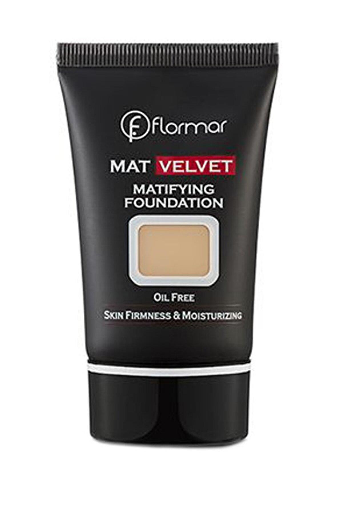 Flormar Fondöten - Mat Velvet Matifying Foundation V203 8690604130542