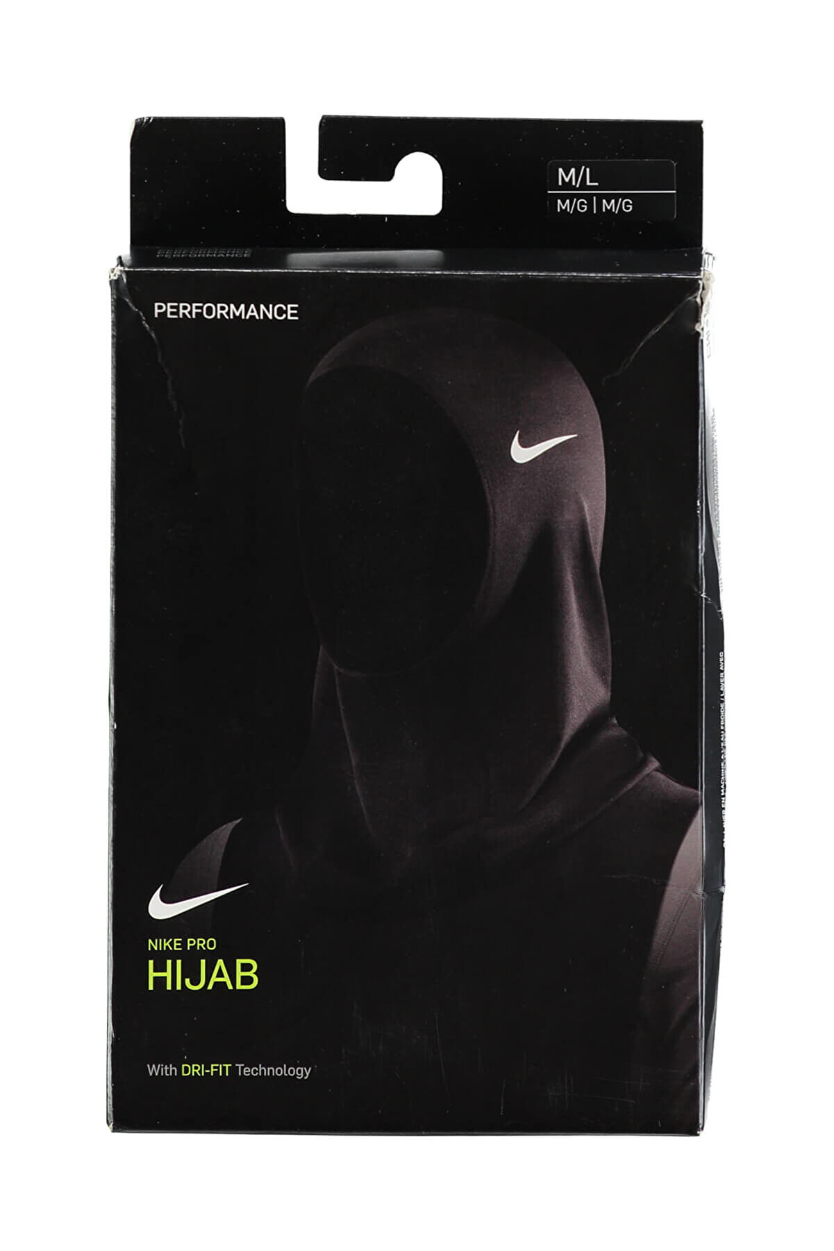 Nike Hijab - Pro Hijab Alt Pkg - N.JN.K1.010.ML