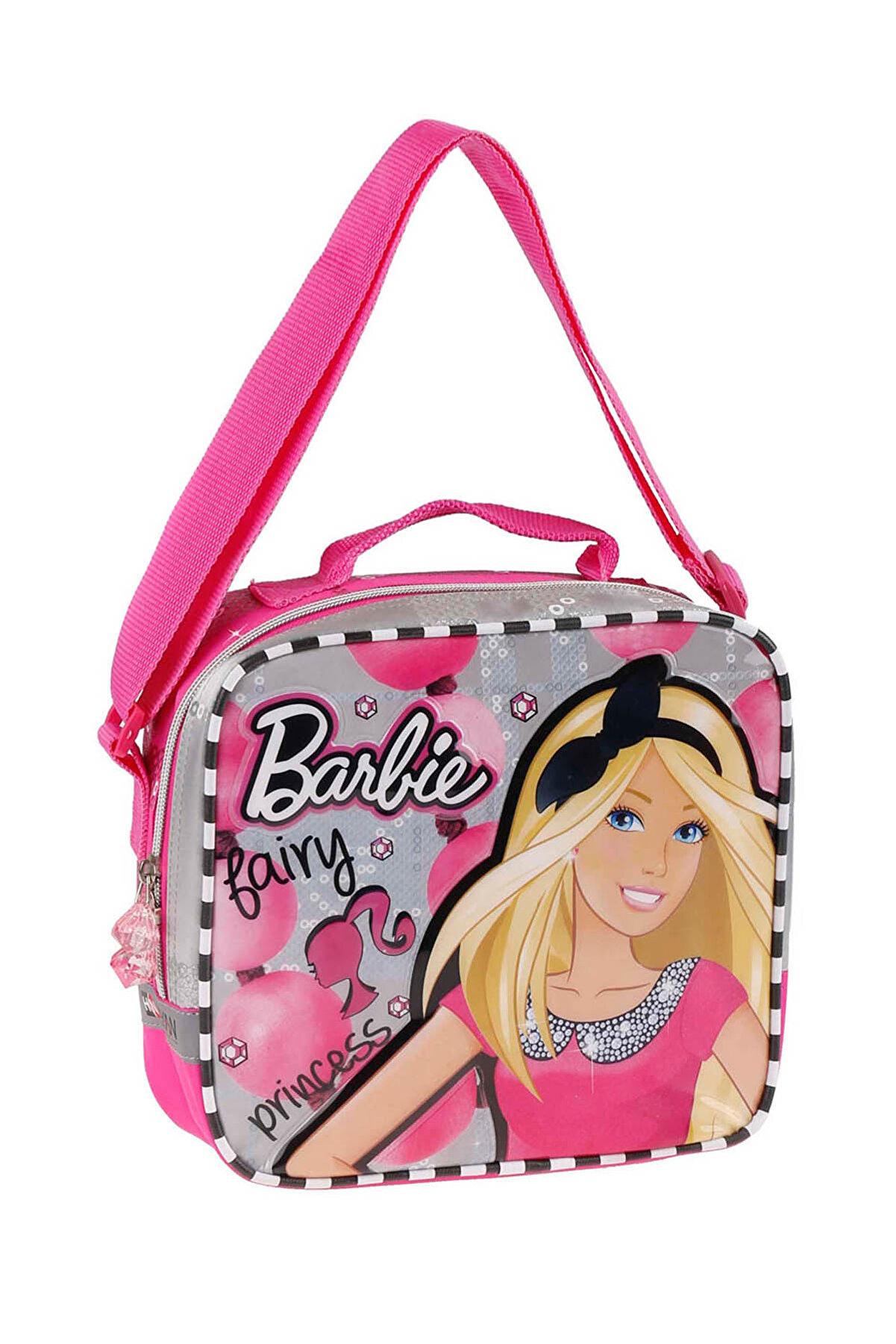 Barbie 86204 Pembe Kız Çocuk Beslenme Çantası 100205621