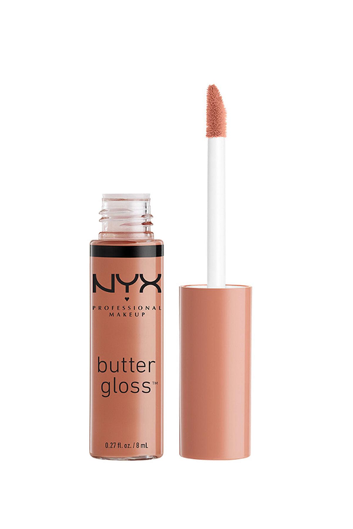 NYX Professional Makeup Dudak Parlatıcısı - Butter Gloss Madeleine 15 g 800897818586