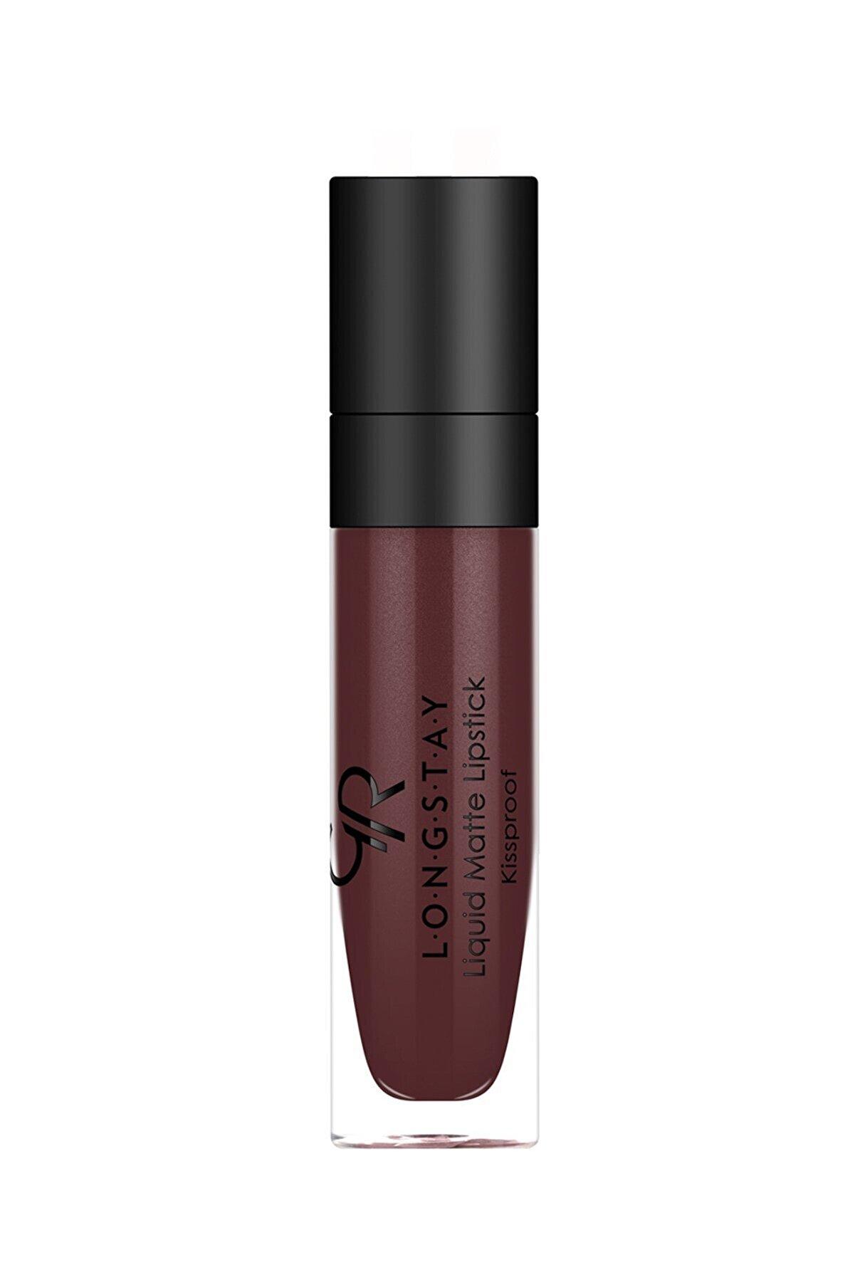 Golden Rose Uzun Süre Kalıcı Likit Mat Ruj - Longstay Liquid Matte Lipstick No: 12 8691190856120