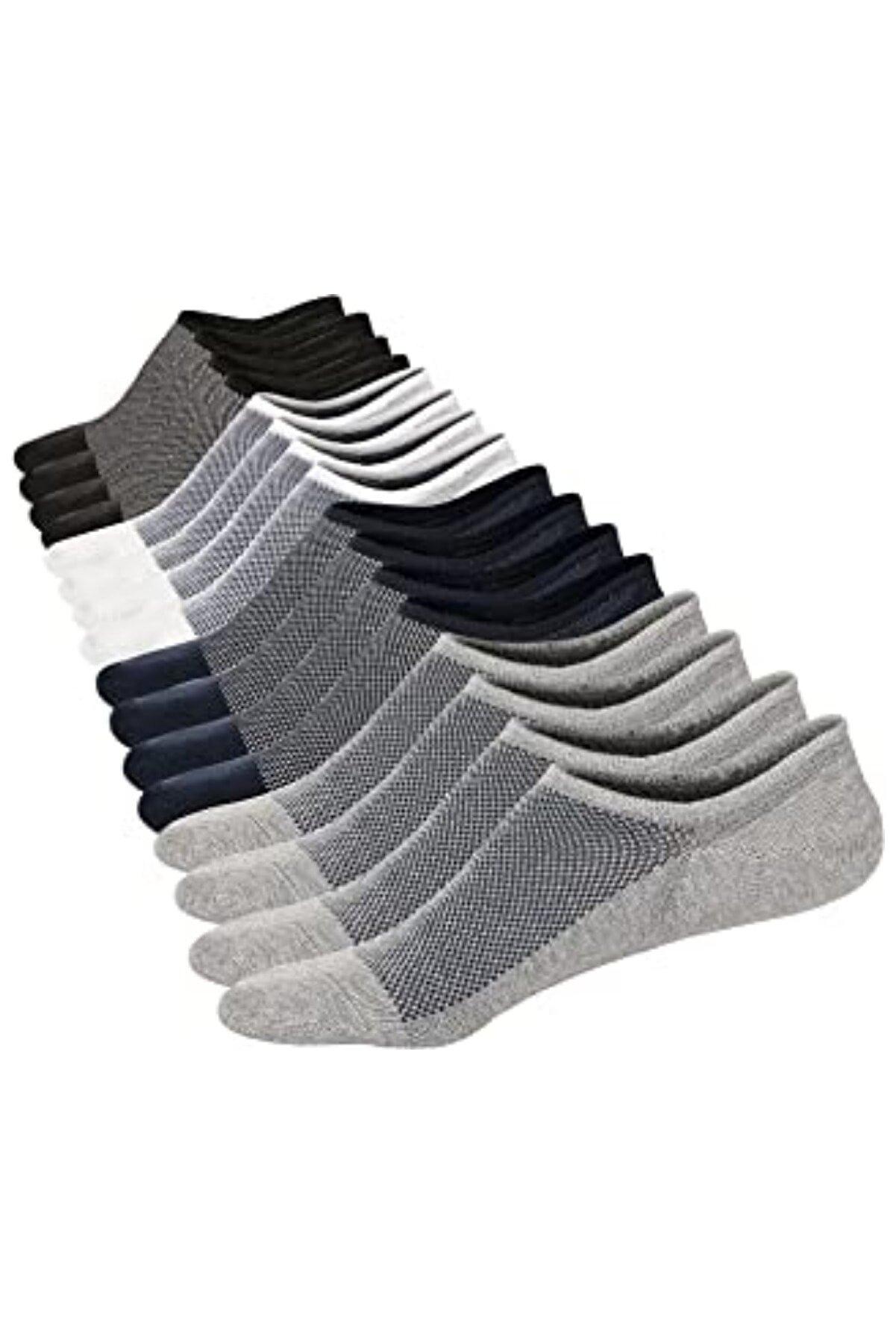 socksbox Erkek 12 Li Görünmez Dikişsiz Çorap