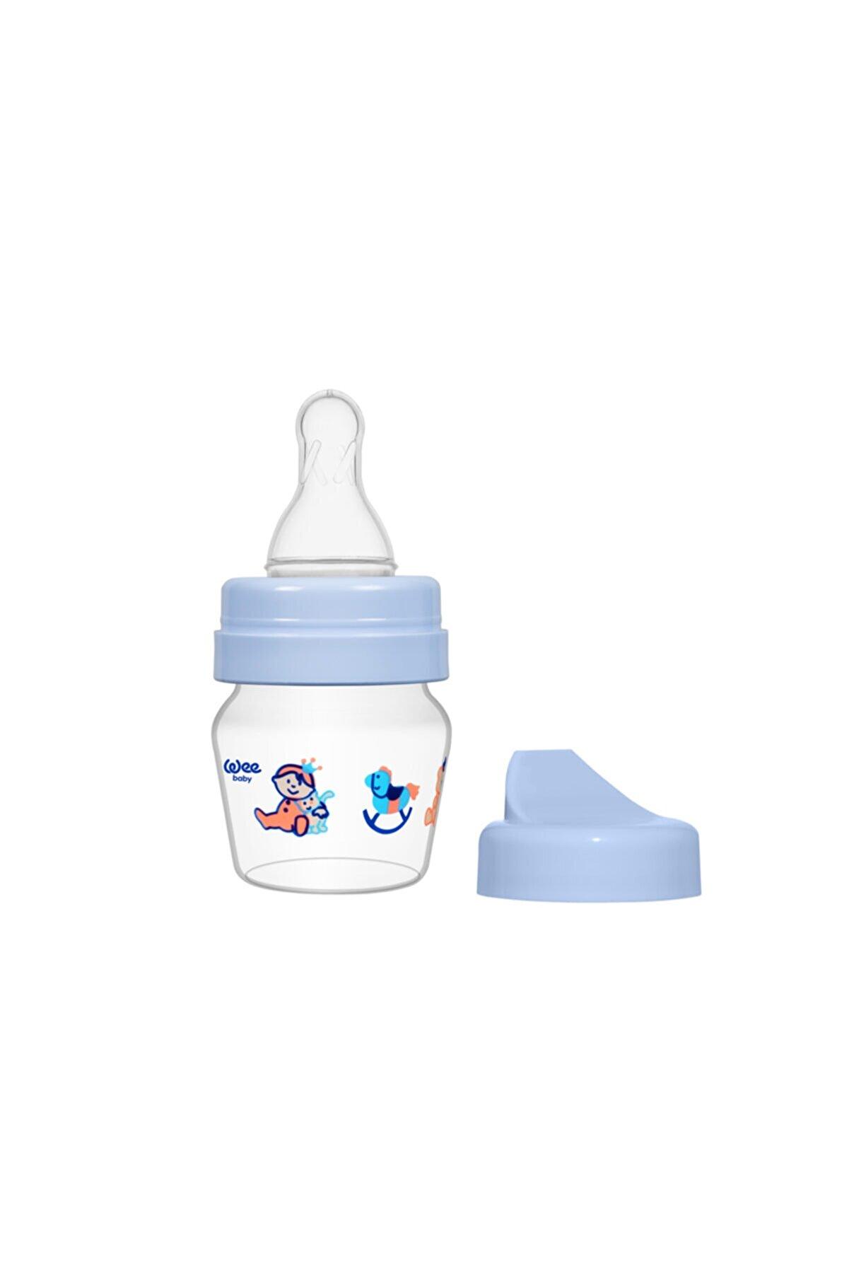 Wee Baby Mini Pp Alıştırma Bardağı Seti 30 Ml - Mavi