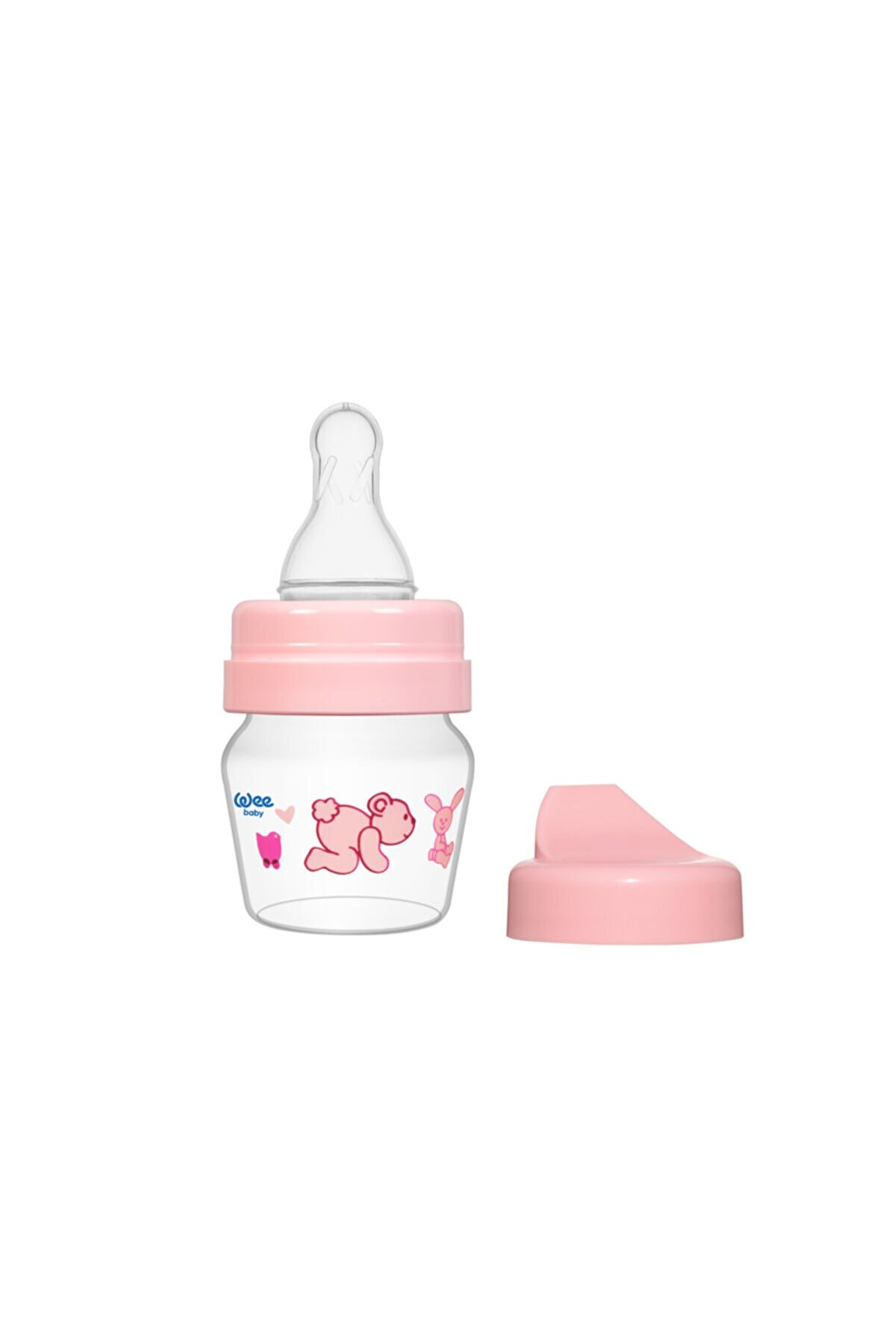 Wee Baby Mini Pp Alıştırma Bardağı Seti 30 Ml - Pembe