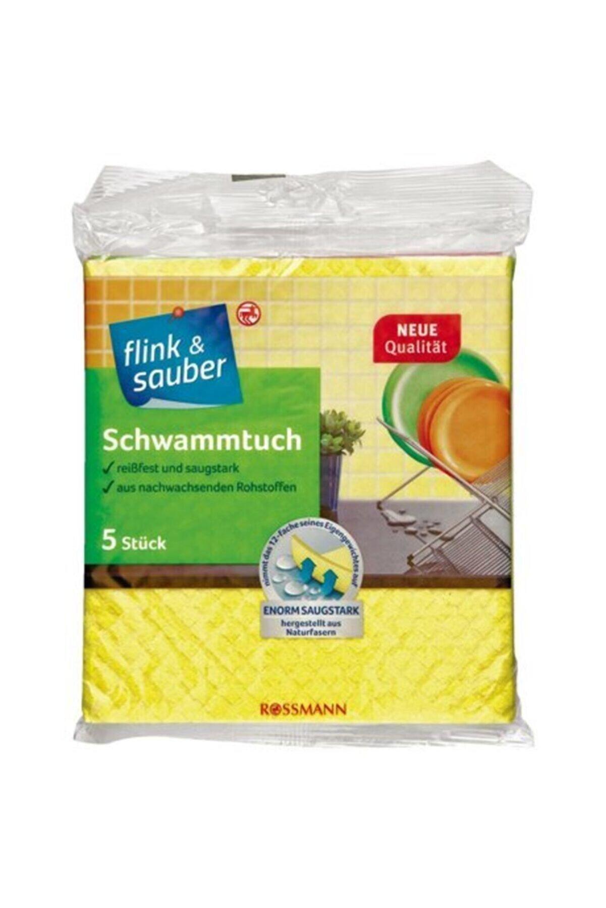 Flink Sauber Flink & Sauber Renkli Sünger Bezler 5'li
