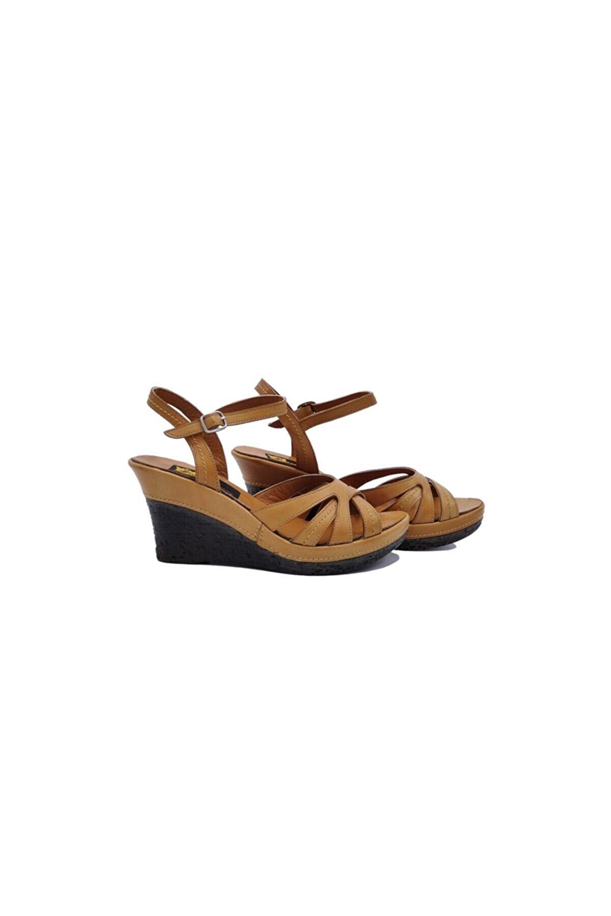 Zaim Kundura Kadın Kahverengi Sandalet 505049478-1