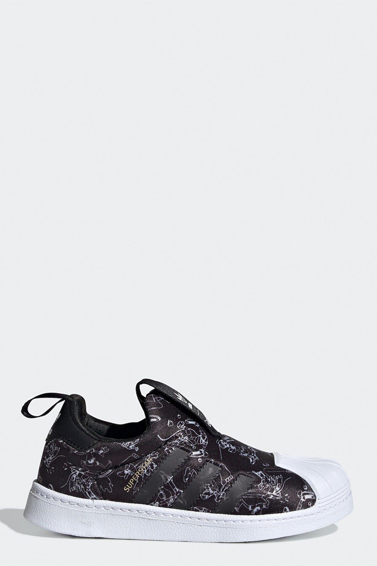 adidas Erkek Çocuk Siyah Ayakkabı Superstar 360 C