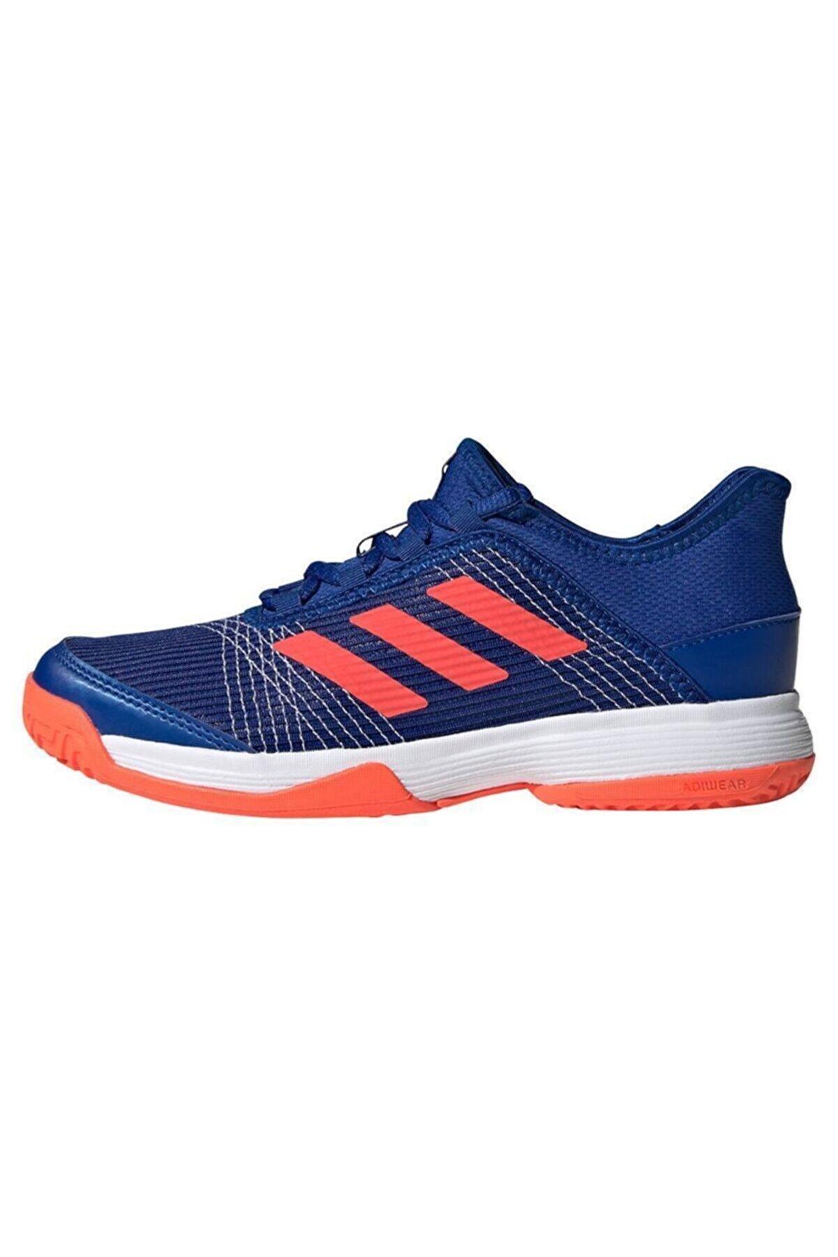 adidas Erkek Çocuk Mavi Fv4132 Adizero Club  Tenis Ayakkabısı