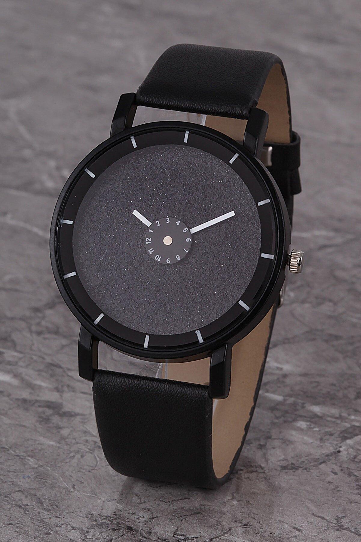 Polo55 Plkk017r03 Kadın Saat Siyah Tasarım Kadran Deri Kordon