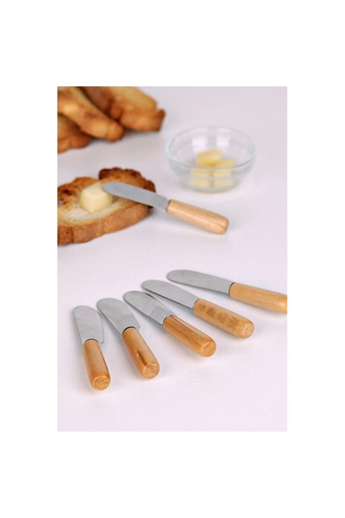 ZUZU MADE 6'lı Bambu Saplı Kahvaltı Bıçağı