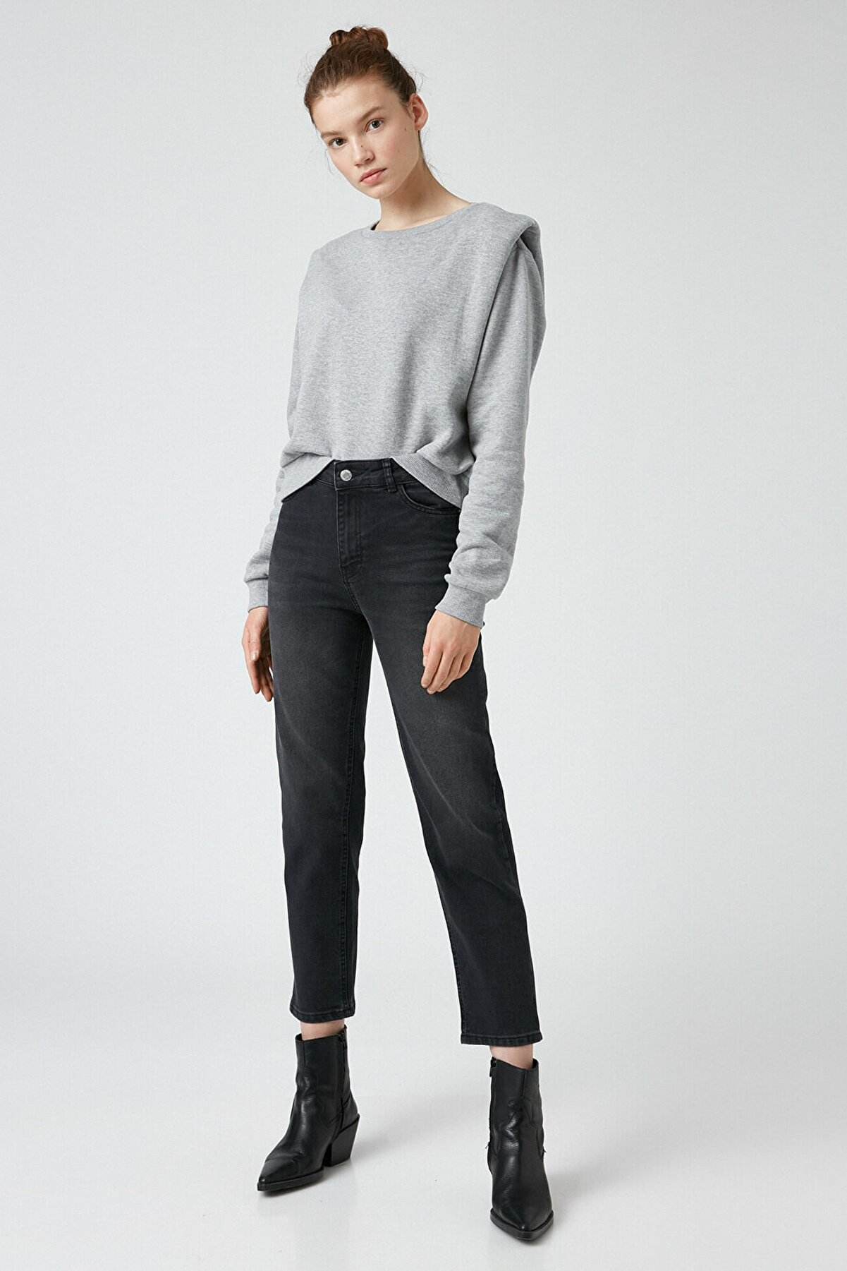 Koton Kadın Gri Jeans 1KAK47144MD