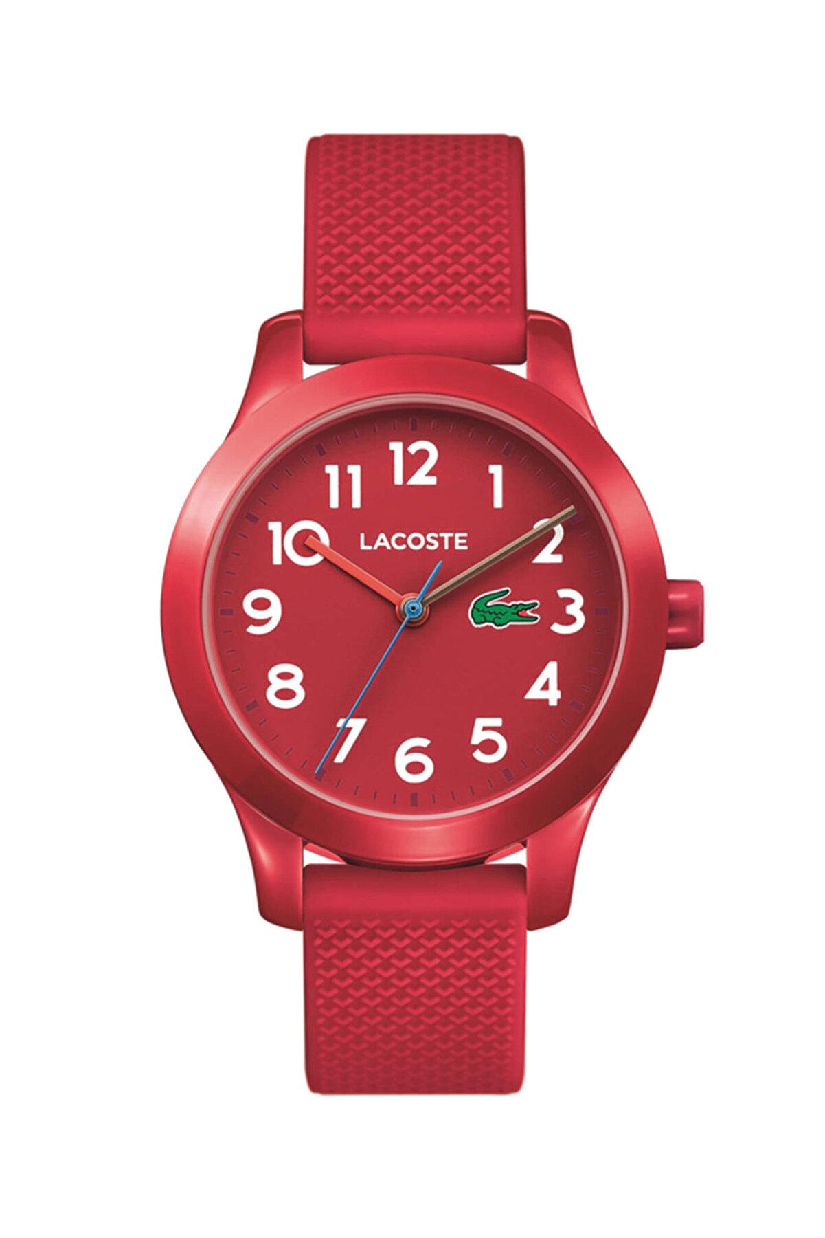 Lacoste Unisex Çocuk Kırmızı Kol Saati 2030004