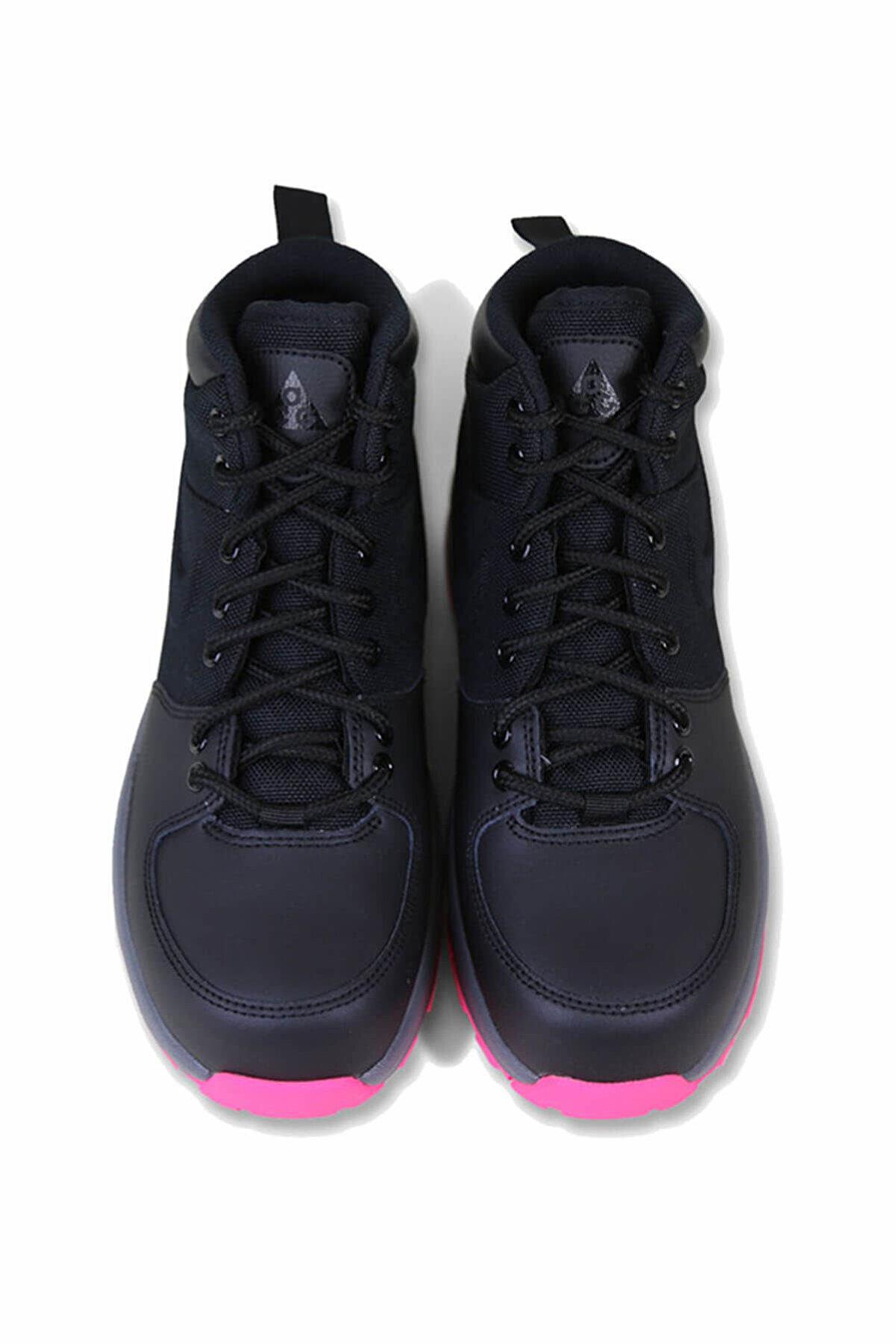 Nike Siyah Kız Outdoor Ayakkabı Manoa (Gs)  - 859412-006