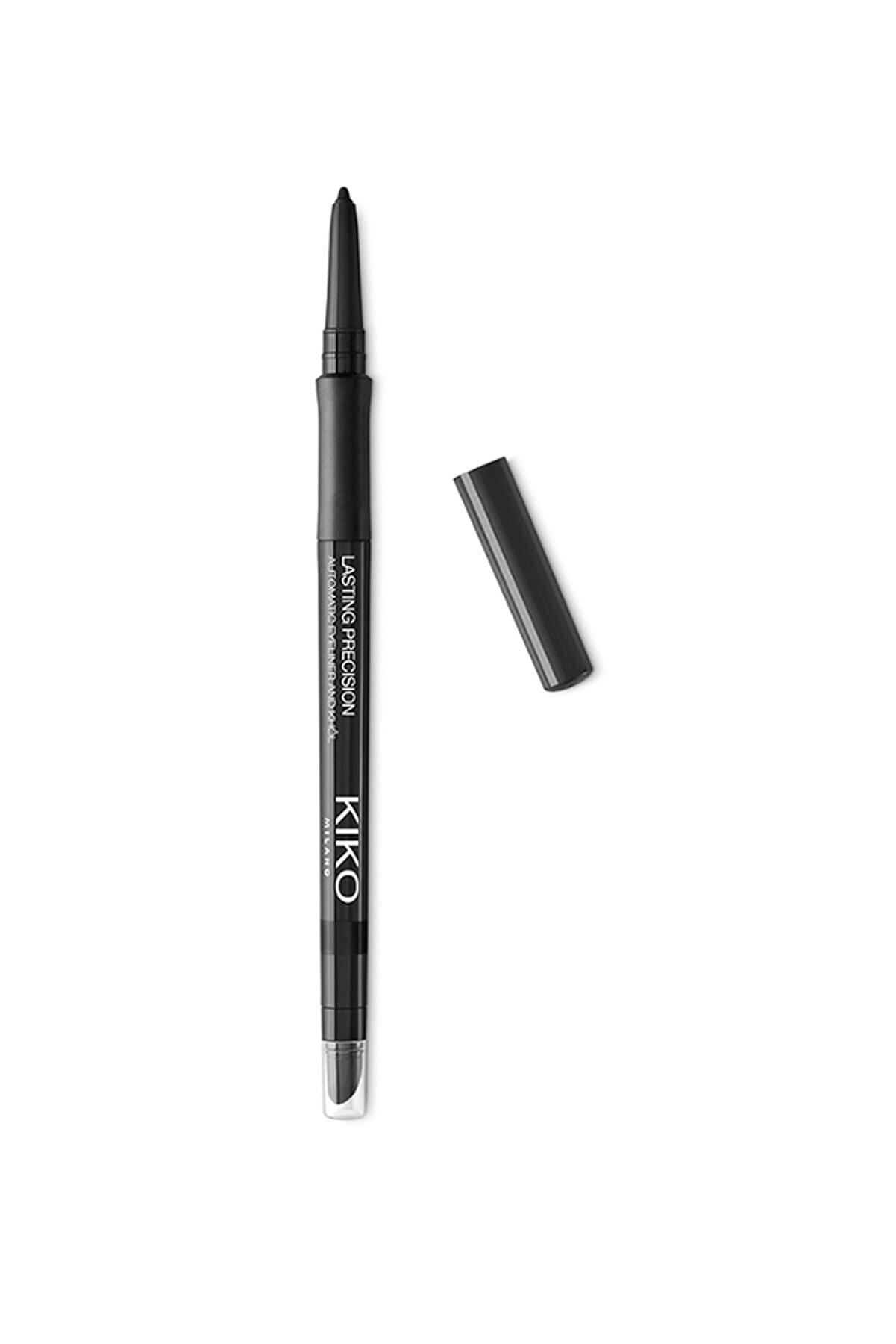KIKO Göz Kalemi - Lasting Precision Automatic Eyeliner & Kajal 16 Black 0.35 g 8025272616416