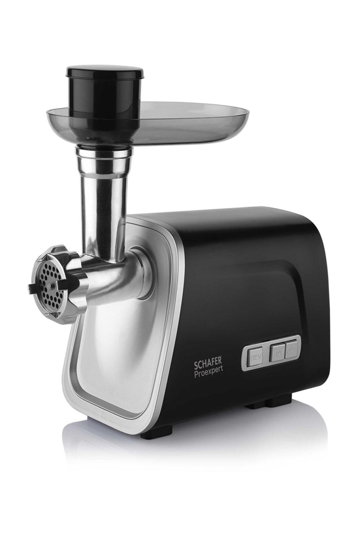 Schafer Pro Expert Kıyma Makinesi - Siyah
