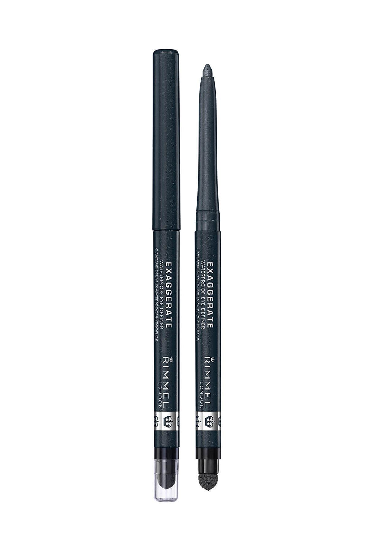 Rimmel London Eyeliner - Exaggerate Waterproof Eye Definer Earl Grey 3607347887102