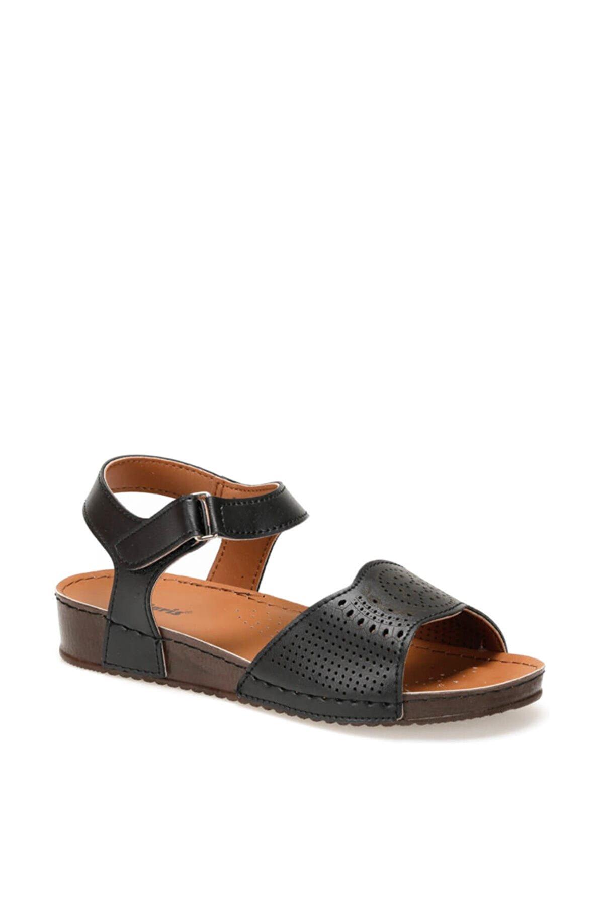 Polaris 91.157373.Z Siyah Kadın Sandalet 100379943