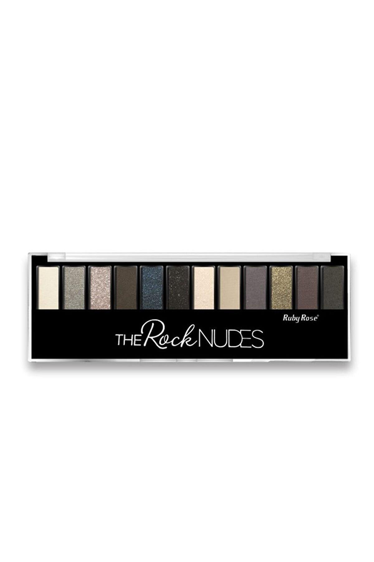 Ruby Rose 12'li Far Paleti - Eyes Palette The Rock Nudes 6295125008688