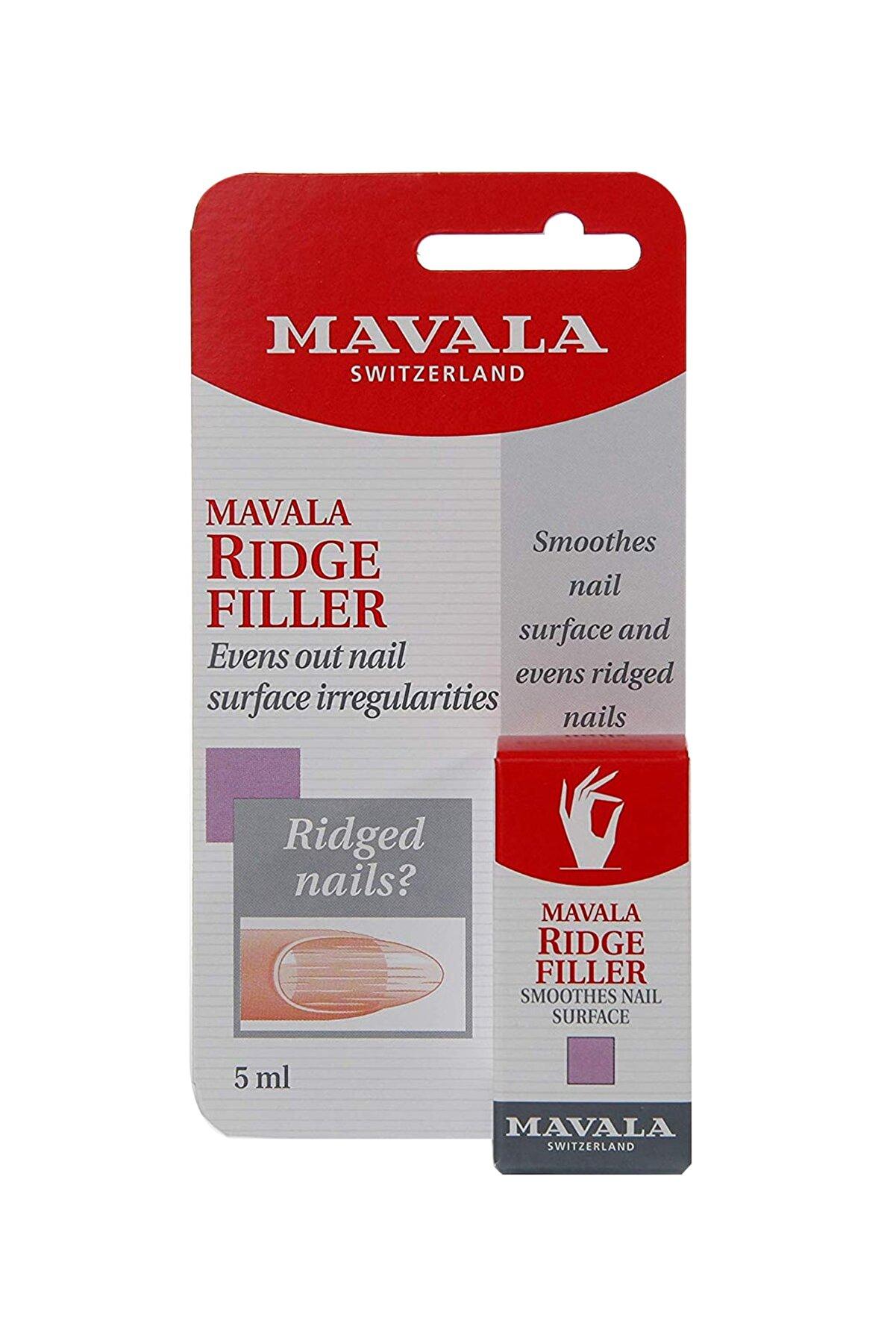 Mavala Ridge Filler - Tırnak Çukur Dolgusu 5 ml 7618900909618