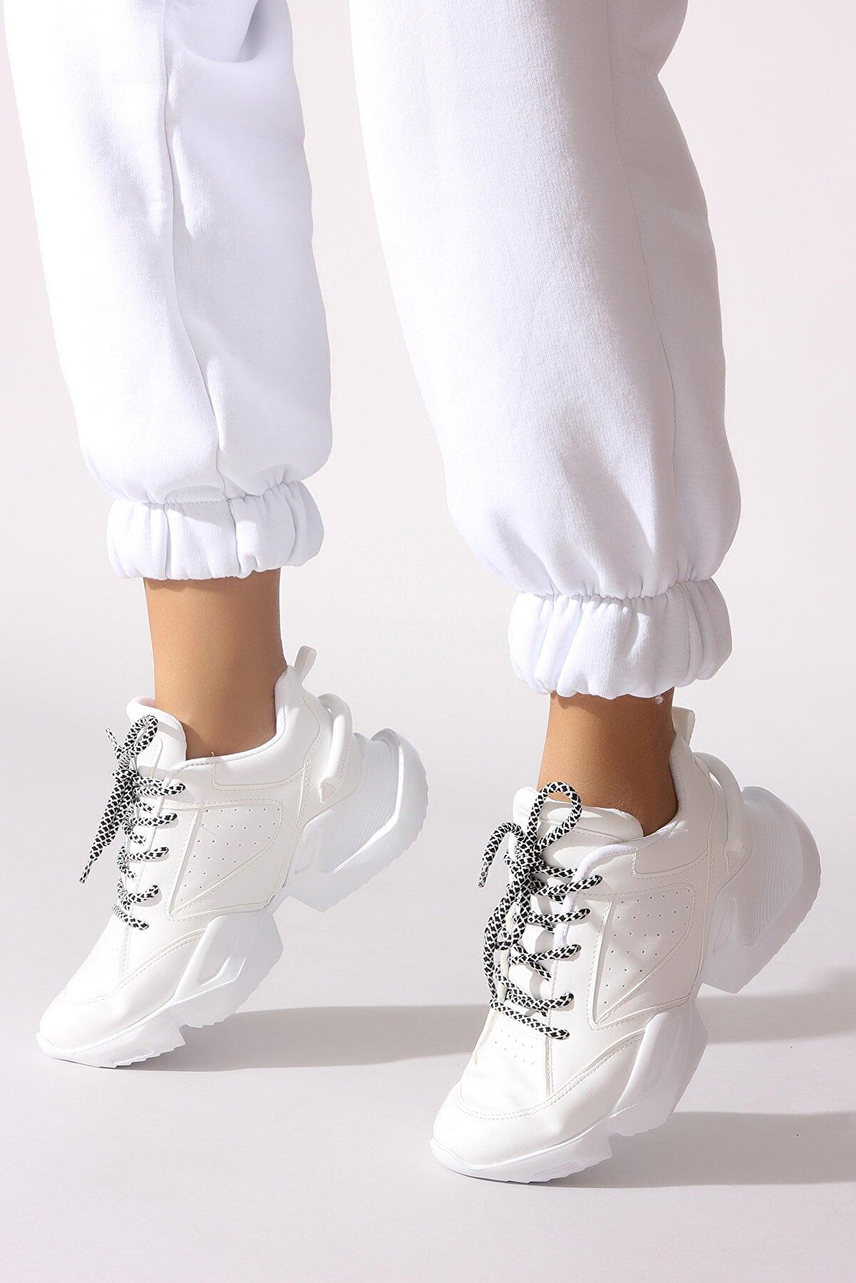 Rovigo Beyaz Kadın Sneaker 545Z204-01