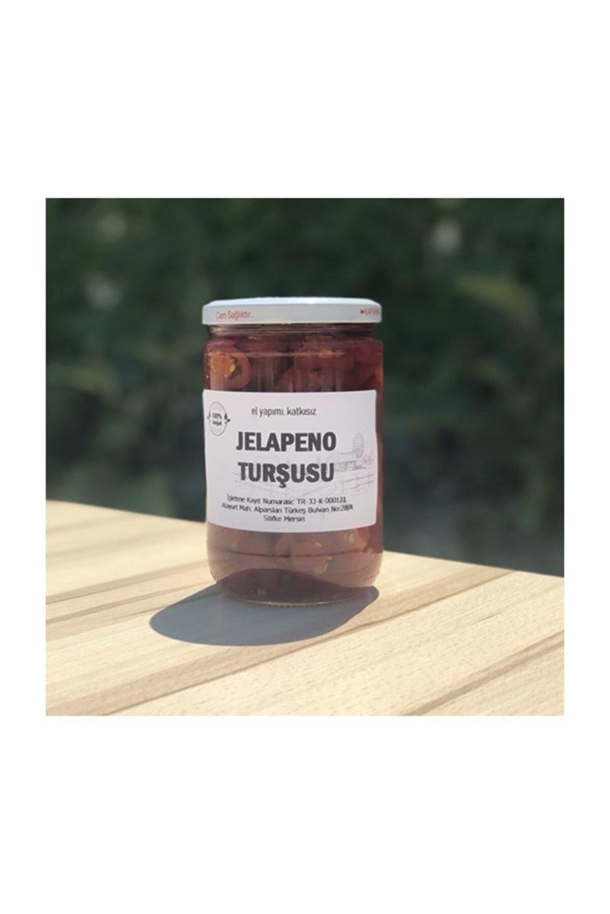 Silifke Sepeti Ev Yapımı Jalepeno Turşusu - 720 gr