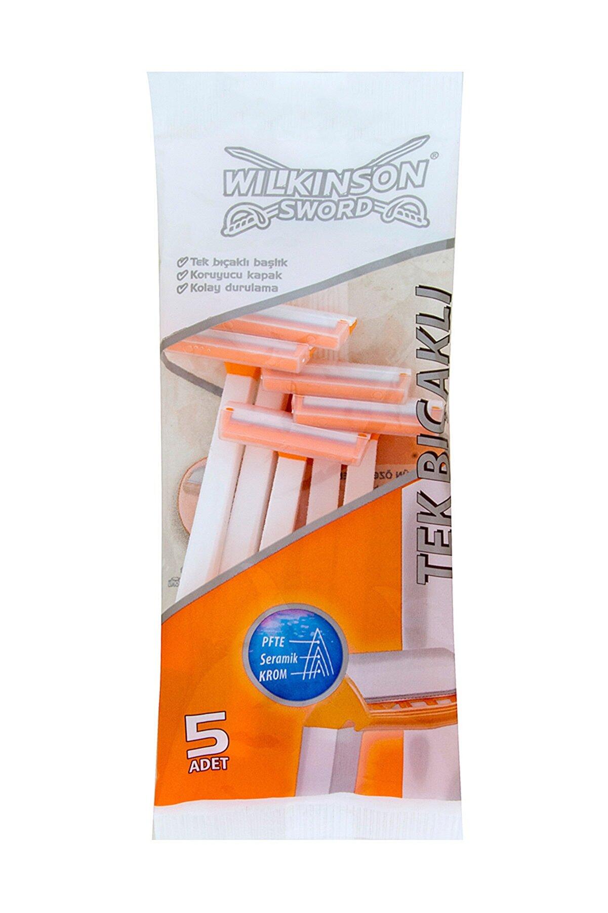 Wilkinson Wilkinson Tek Bıçaklı Tıraş Bıçağı 5'li Poşet