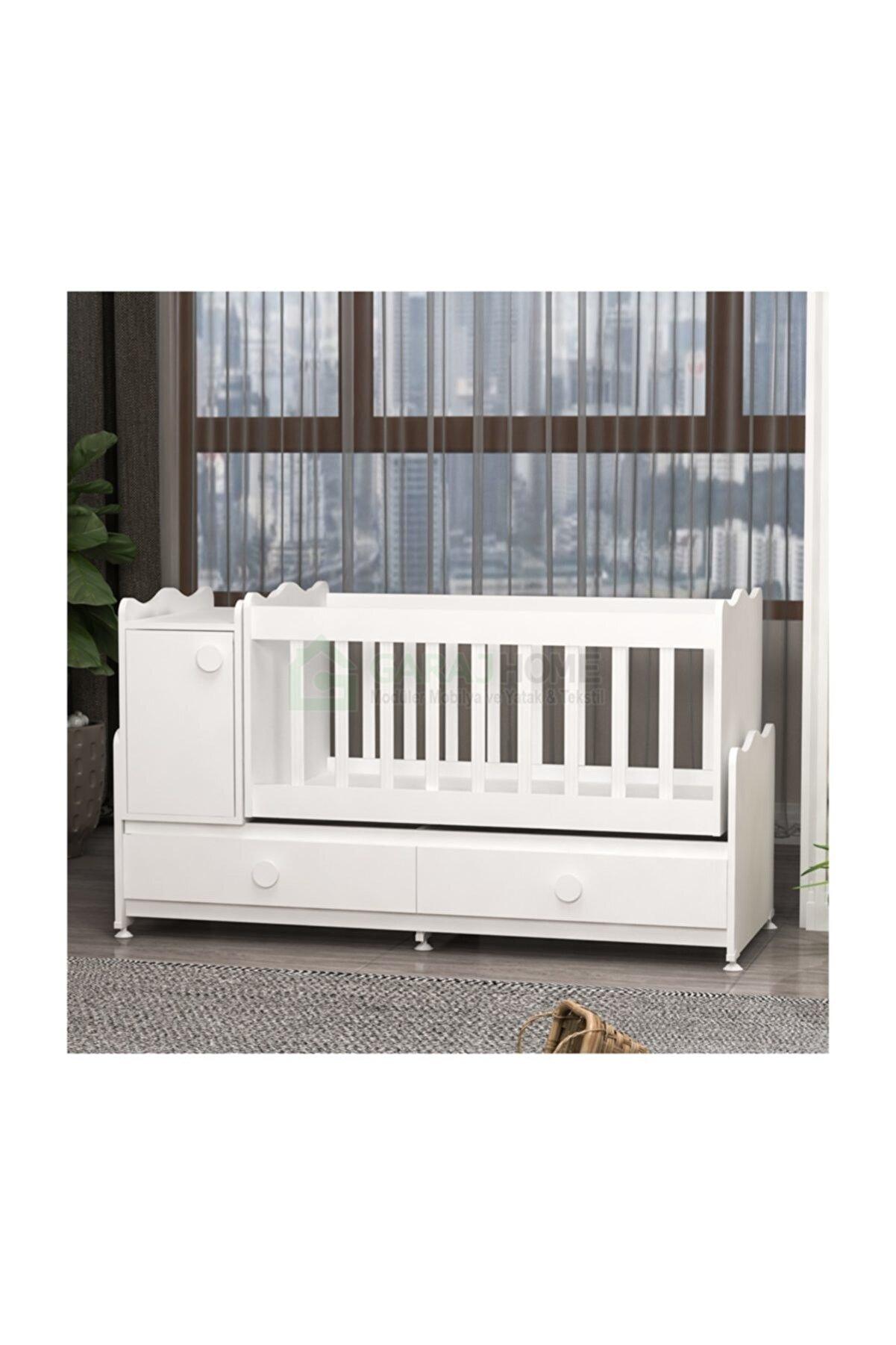 Garaj Home Pırlanta Yıldız Bebek Odası Takımı - Beyaz