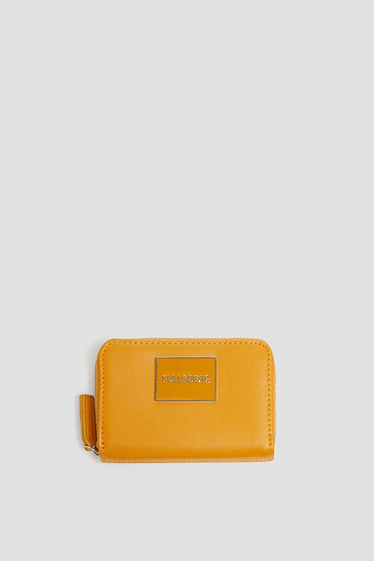 Pull & Bear Kadın Hardal Rengi Hardal Sarısı Rengi Cüzdan 14032540