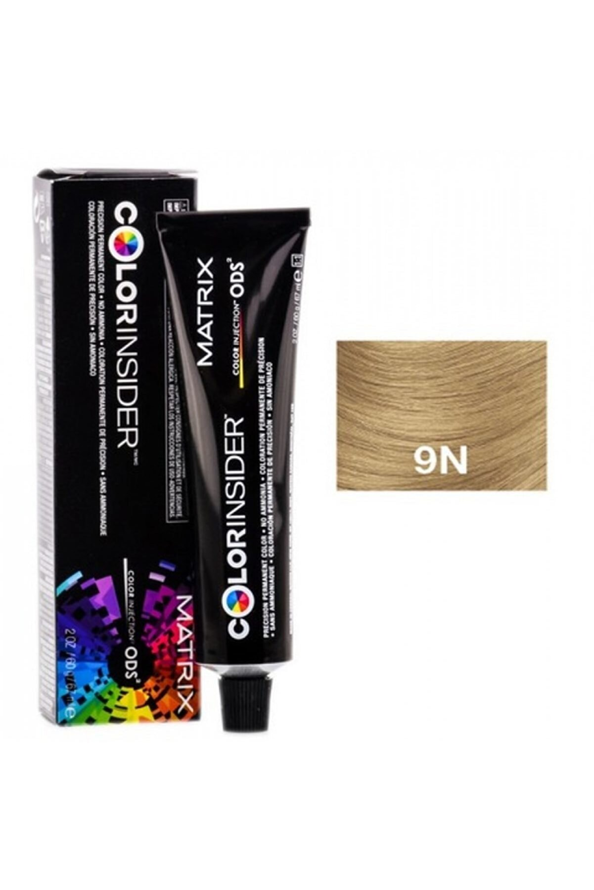 Matrix Color Insider Saç Boyası 9n/9,0-very Light Blonde Neutral