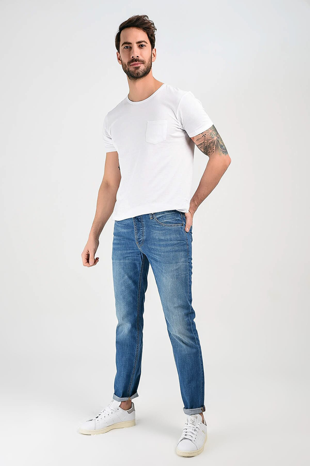 Denim Trip Erkek Slim Jean Indigo DT33007