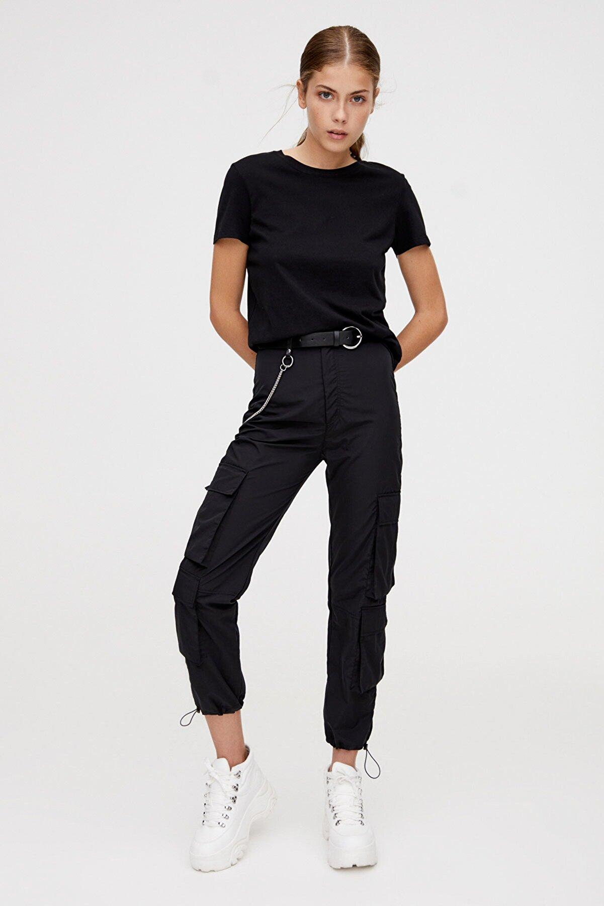 Pull & Bear Kısa Kollu Basic T-Shirt