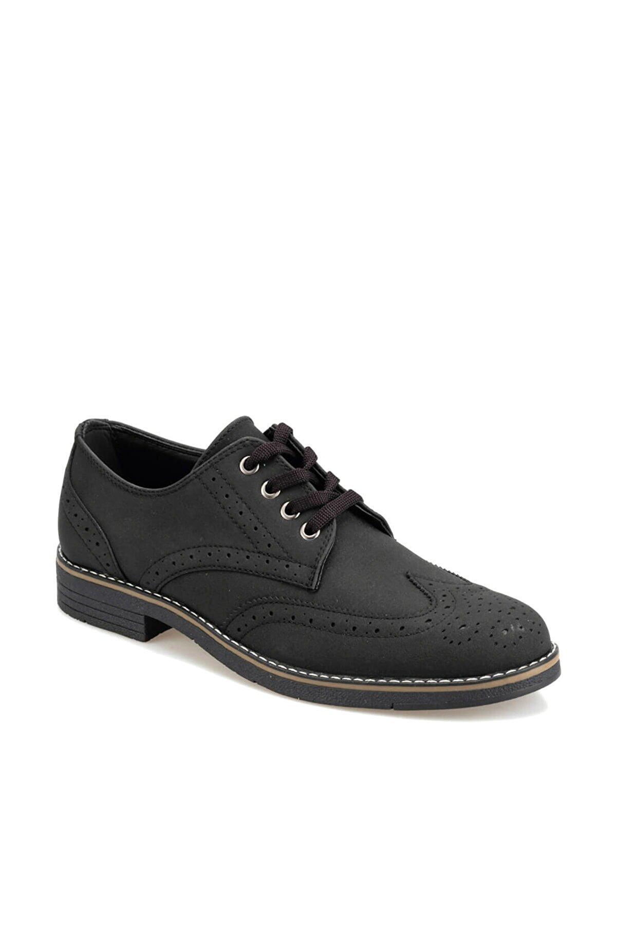 Polaris 92.356133.M Siyah Erkek Klasik Ayakkabı 100413990