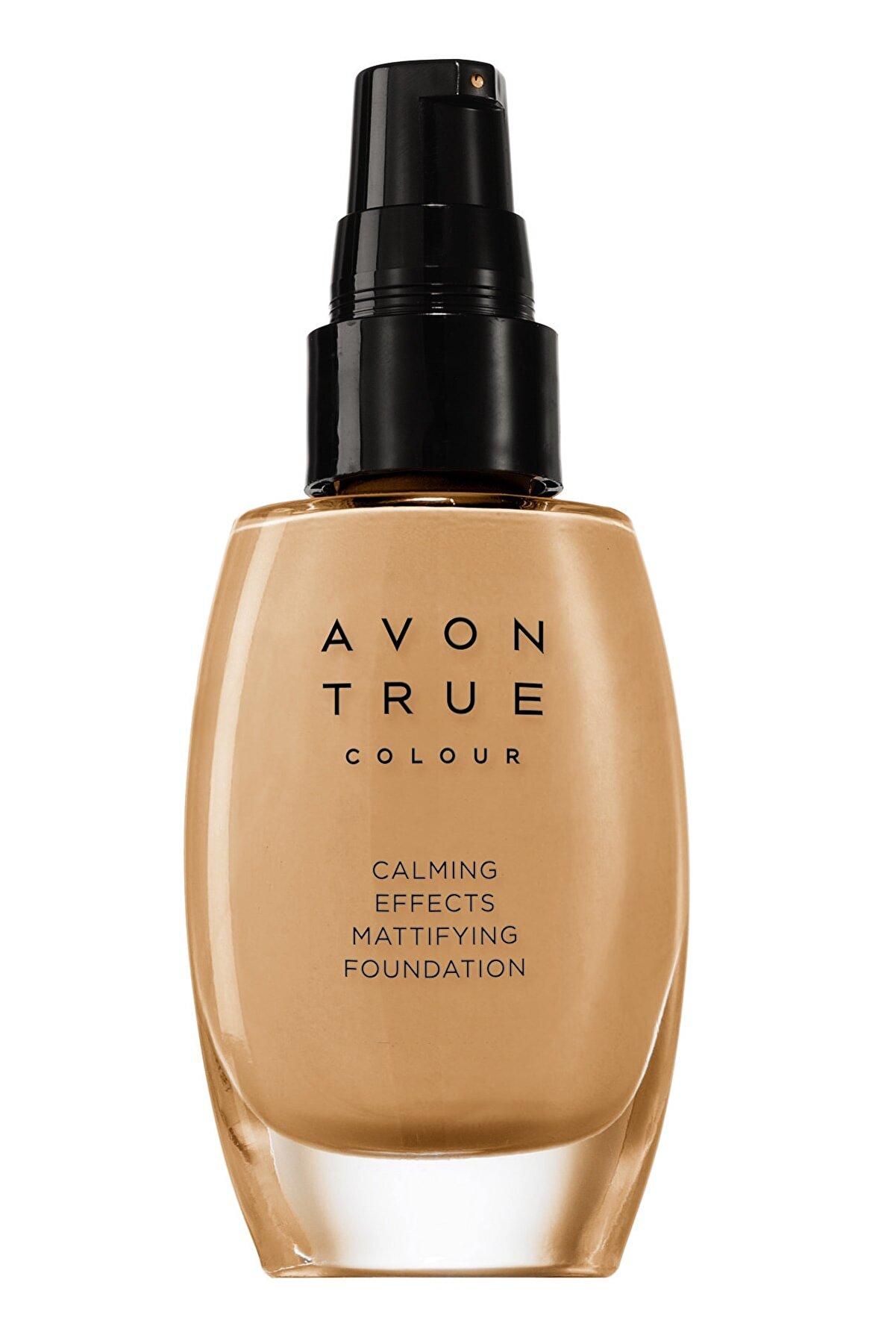 Avon Mat Fondöten - Calming Effects Foundation Cream 30 ml 8681298930044