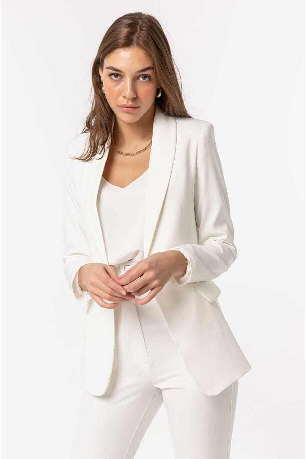 GÜNEŞMODA Kadın Bleazer Ceket