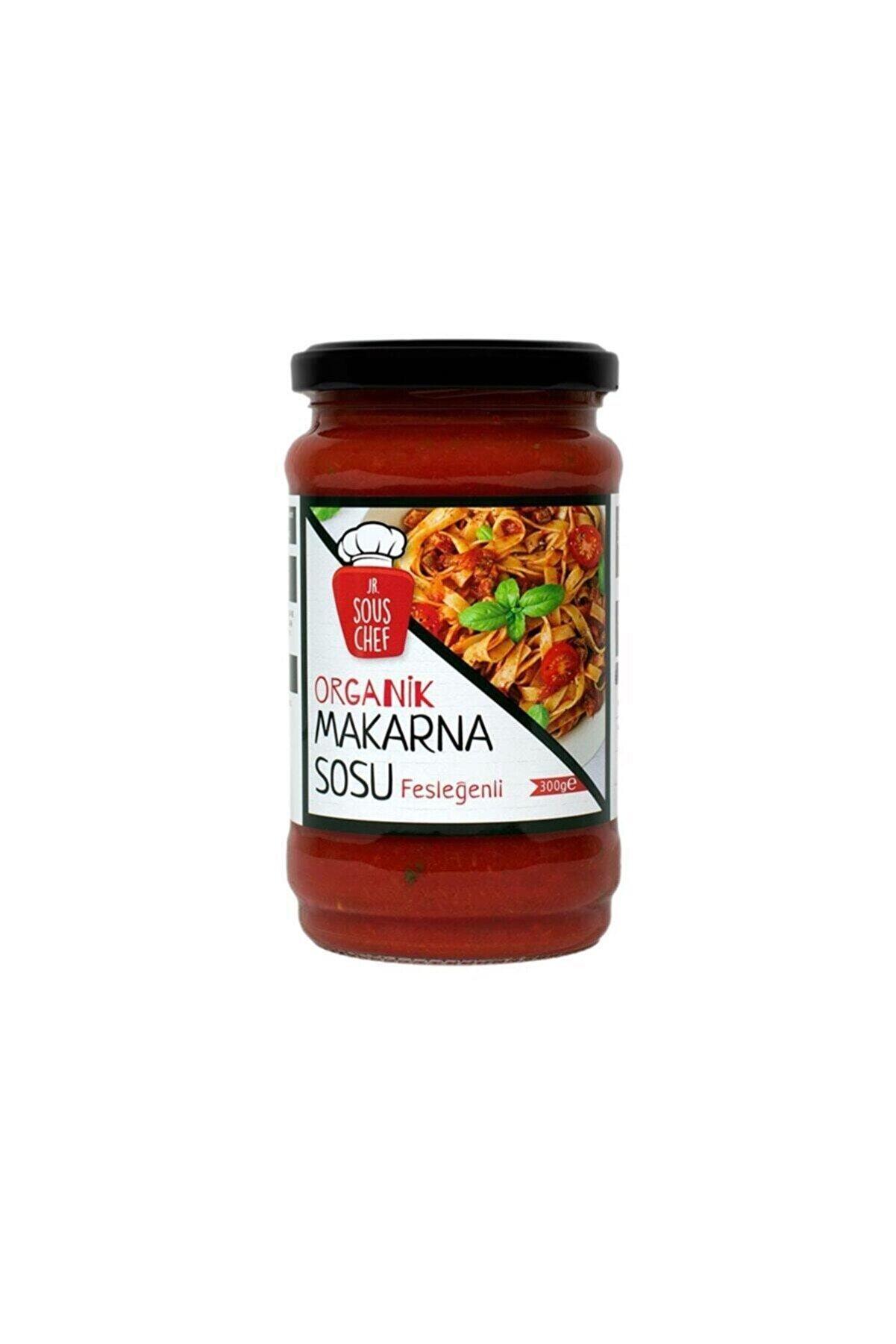 Jr.Sous Chef Organik Makarna Sosu Fesleğenli 300 g