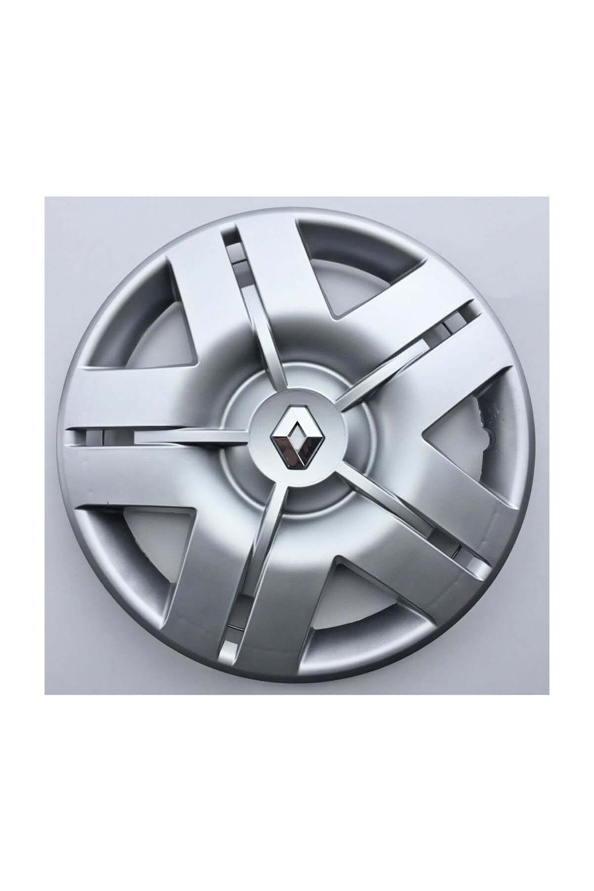 Seta Renault Uyumlu 13'' Inç Jant Kapağı 4 Adet Kırılmaz Esnek - Amblem Hediyeli