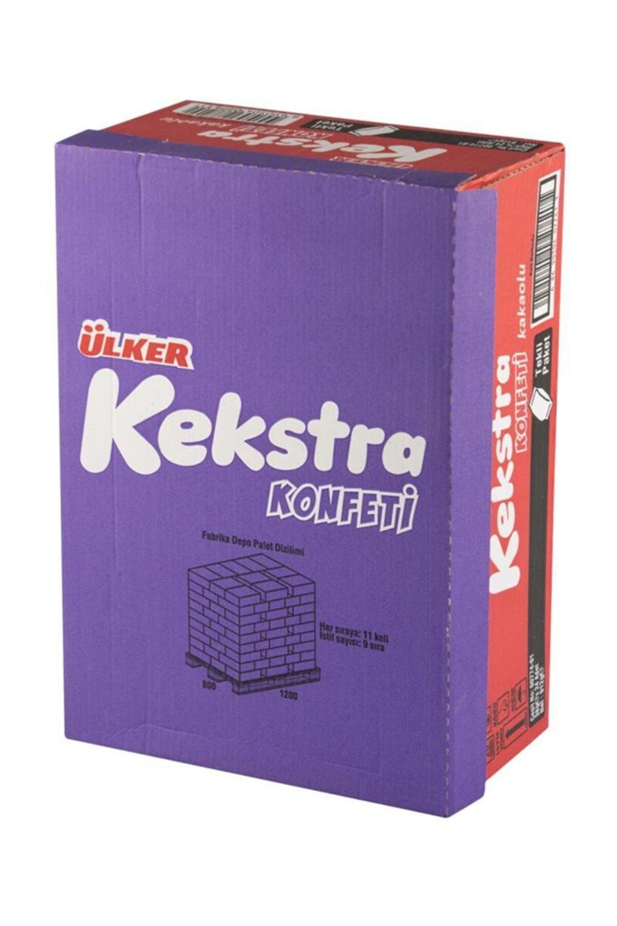 Ülker Kekstra Konfeti Çikolata Soslu Kakaolu Kek 38 Gr (24 Adet)