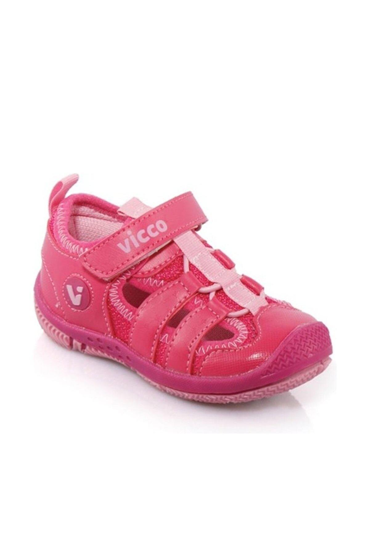 Vicco Bebek Sandalet Fuşya