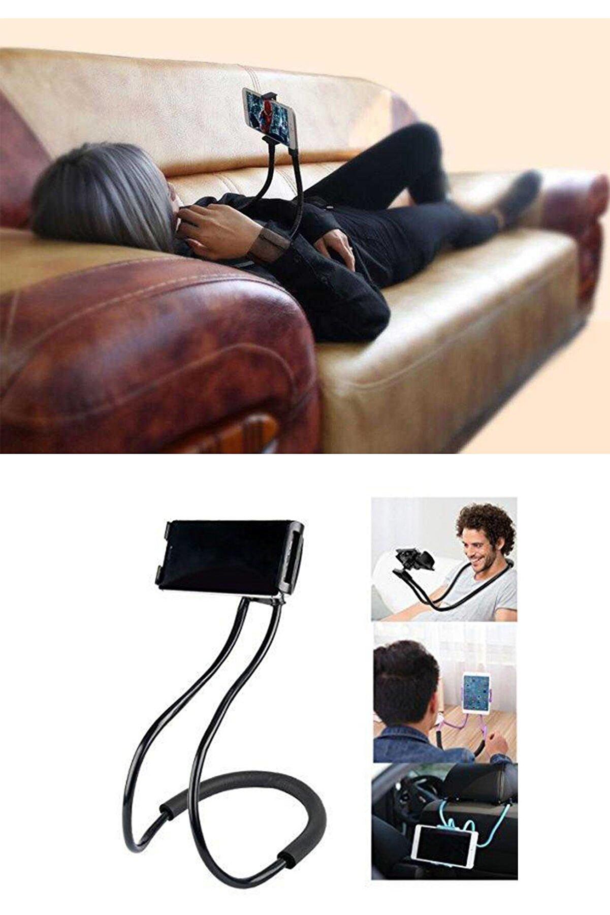 Keyfi Sepet Boyuna Asılan ve Masaüstü Telefon Tutucu