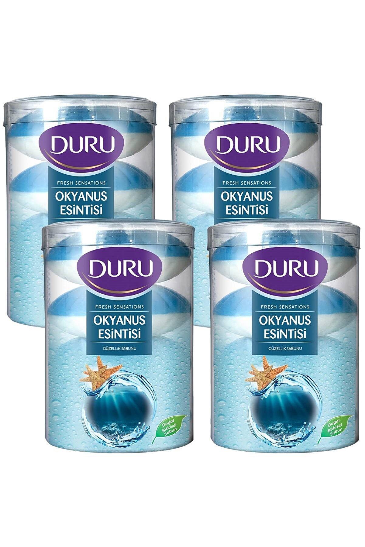 Duru Fresh Sensations Okyanus Esintisi 16 Adet Güzellik Sabunu 4x440 gr
