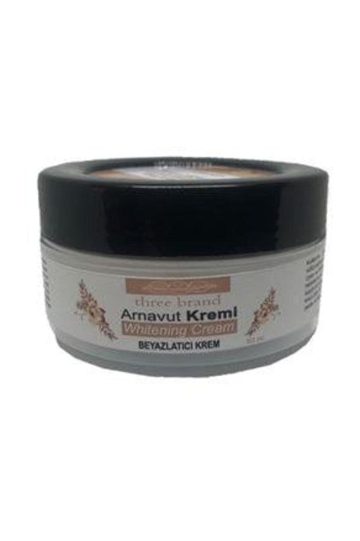 Three Brand Whitening Cream Arnavut Kremi 50 Ml Aklık Kremi - Beyazlatıcı Krem
