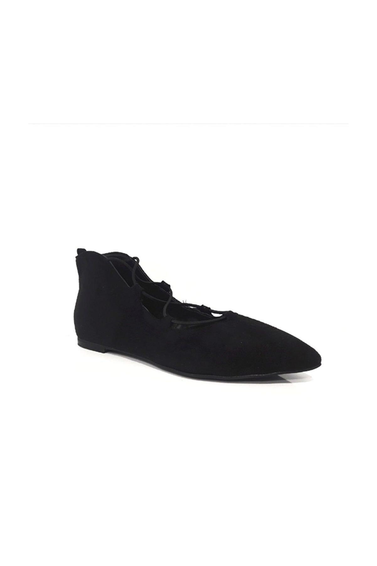 Divum Siyah Süet Ayakkabı