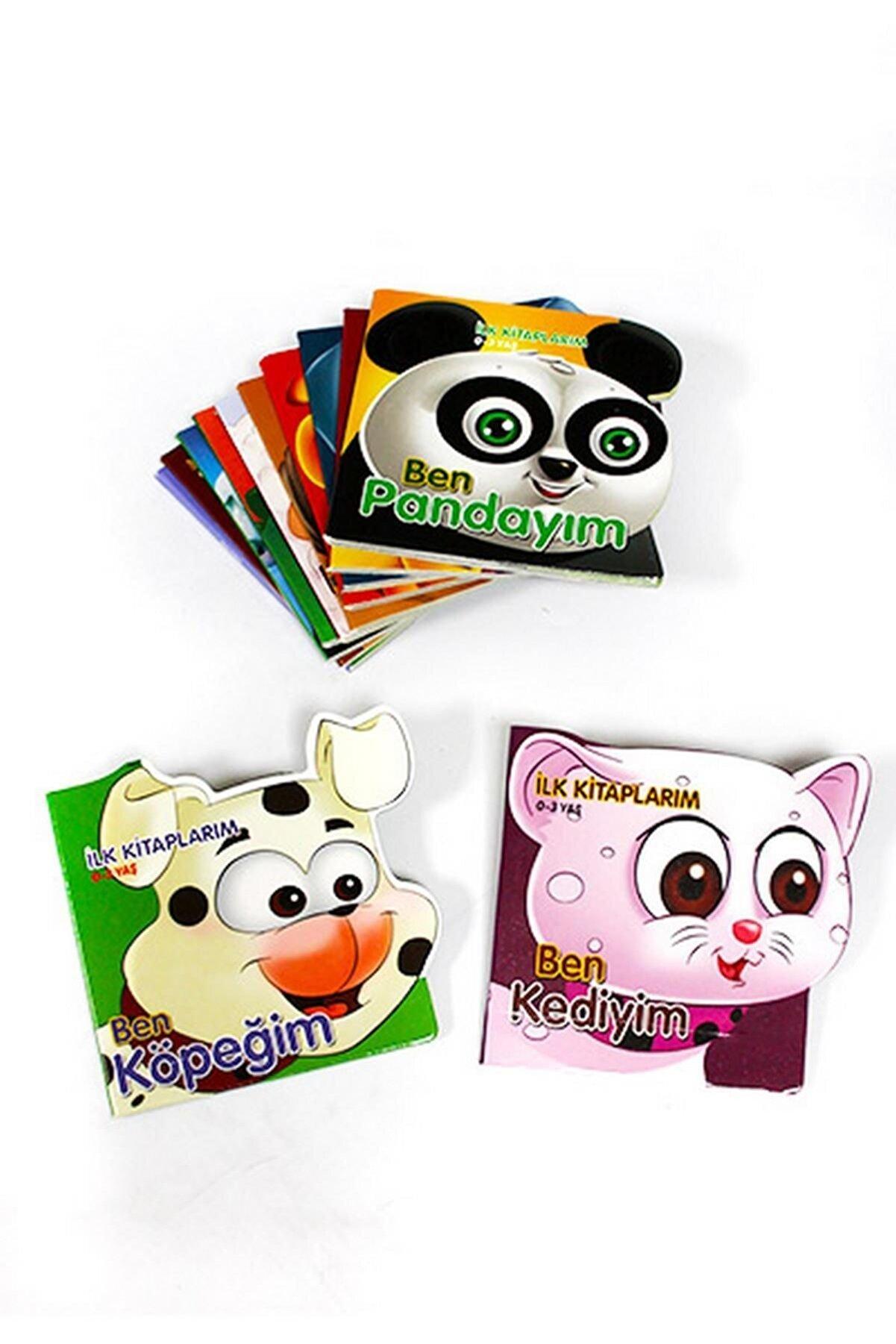 Çocuk Gezegeni 0-3 Yaş Ilk Kitaplarım Serisi Hayvanlar  - 12 Kitap