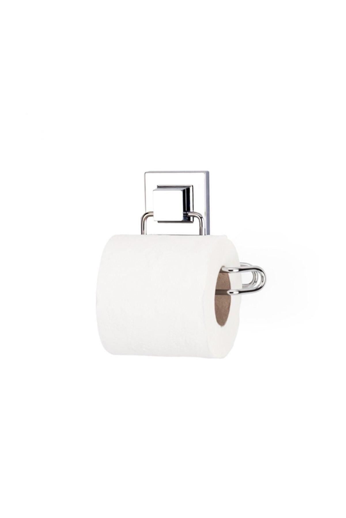 Evistro Banyo Tuvalet Kağıdı Askısı Paslanmaz Krom Yapışkanlı Easyfix