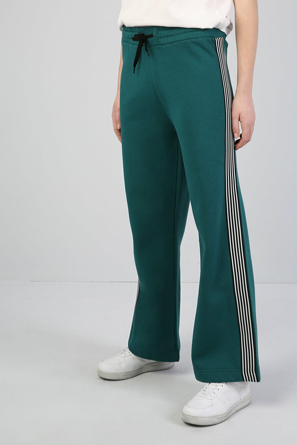 Colin's KADIN Comfort Fit Kadın Yeşil Eşofman Altı CL1041633