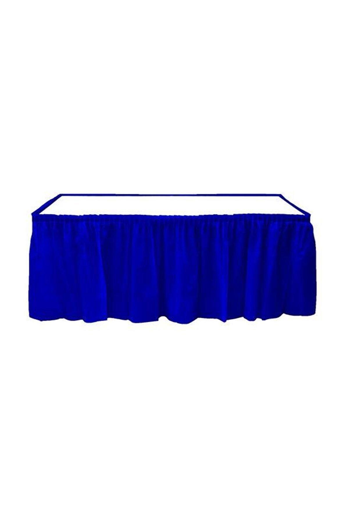 Kikajoy Lacivert Plastik Masa Eteği 75x426 cm