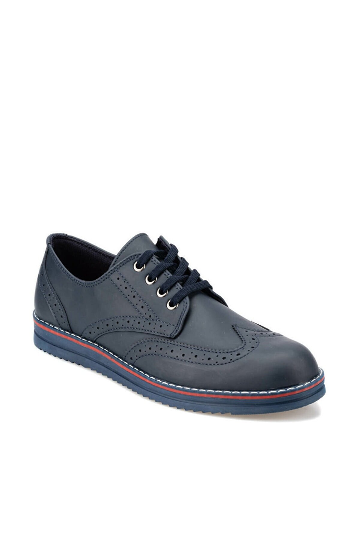Polaris 92.356617.m Lacivert Erkek Klasik Ayakkabı