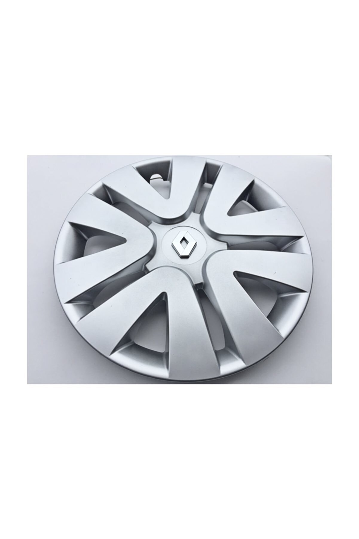 Seta Renault Fluence 15'' Inç Jant Kapağı 4 Adet Kırılmaz Esnek - Amblem Hediyeli