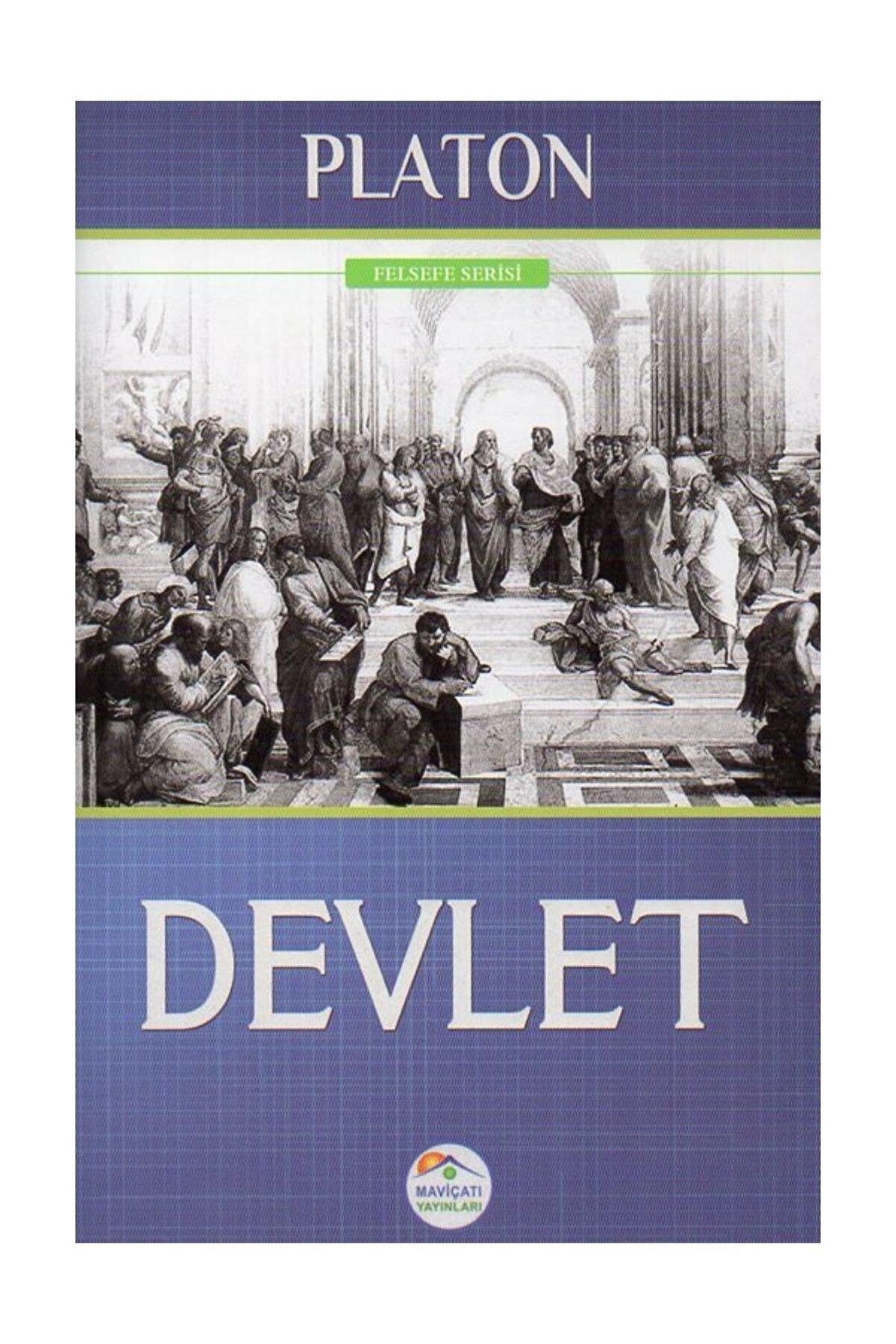 Mavi Çatı Yayınları Devlet Platon (Eflatun)
